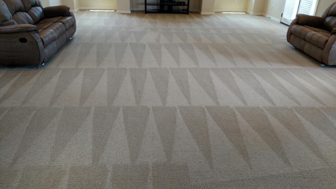 Gilbert, AZ - Cleaned carpet and upholstery for a regular PANDA family in Gilbert, AZ 85298.