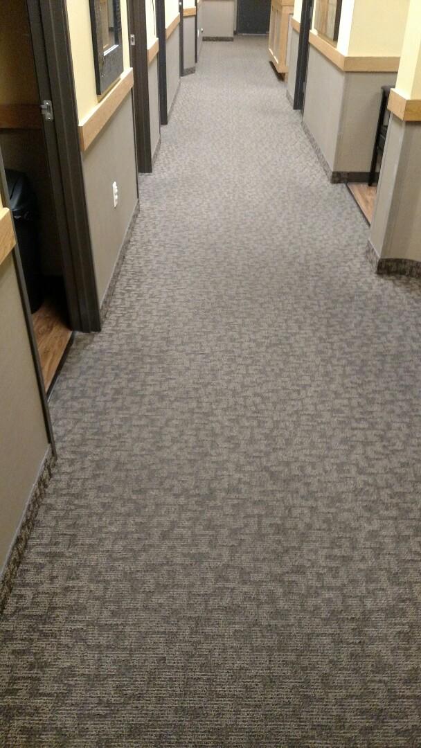 Mesa, AZ - Cleaned commercial carpet for a regular PANDA customer in Mesa, AZ 85209.
