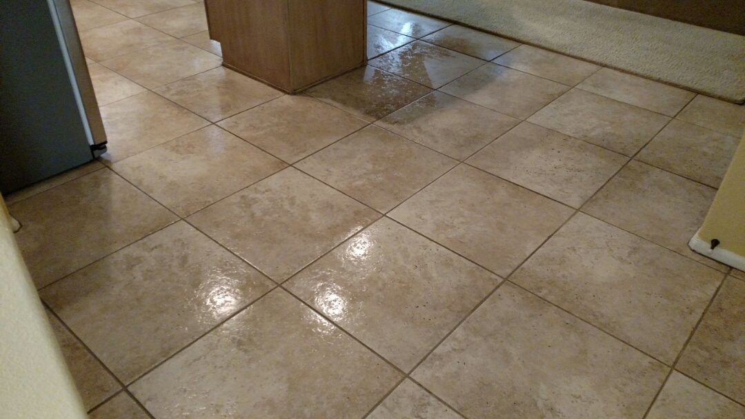 Gilbert, AZ - Clean the carpet and tile for a new PANDA customer in Gilbert, AZ 85234.