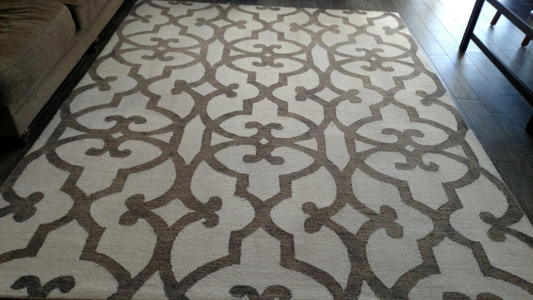 Gilbert, AZ - Cleaned carpet and an area rug for a regular PANDA customer in Ashley Heights, Gilbert, AZ 85295.