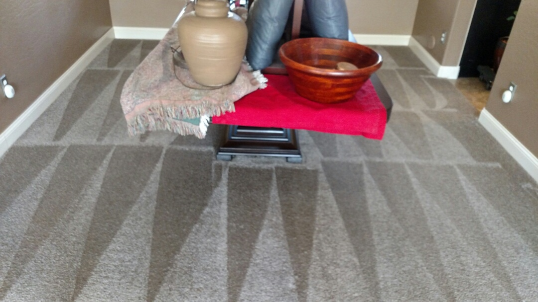 Gilbert, AZ - Cleaned carpet for a new PANDA family in Ashland Ranch, Gilbert, AZ 85295