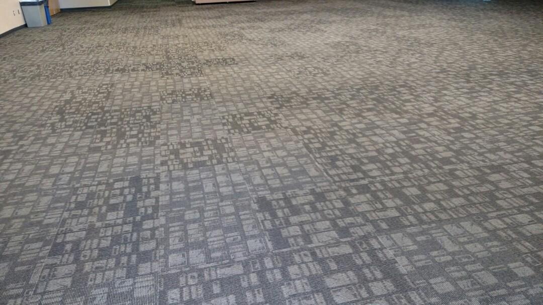 Cleaned commercial carpet for a regular PANDA client in Gilbert, AZ