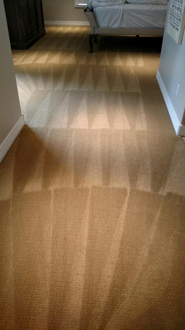 Gilbert, AZ - Cleaned carpet for a new PANDA family in Morrison Ranch, Gilbert, AZ 85296.
