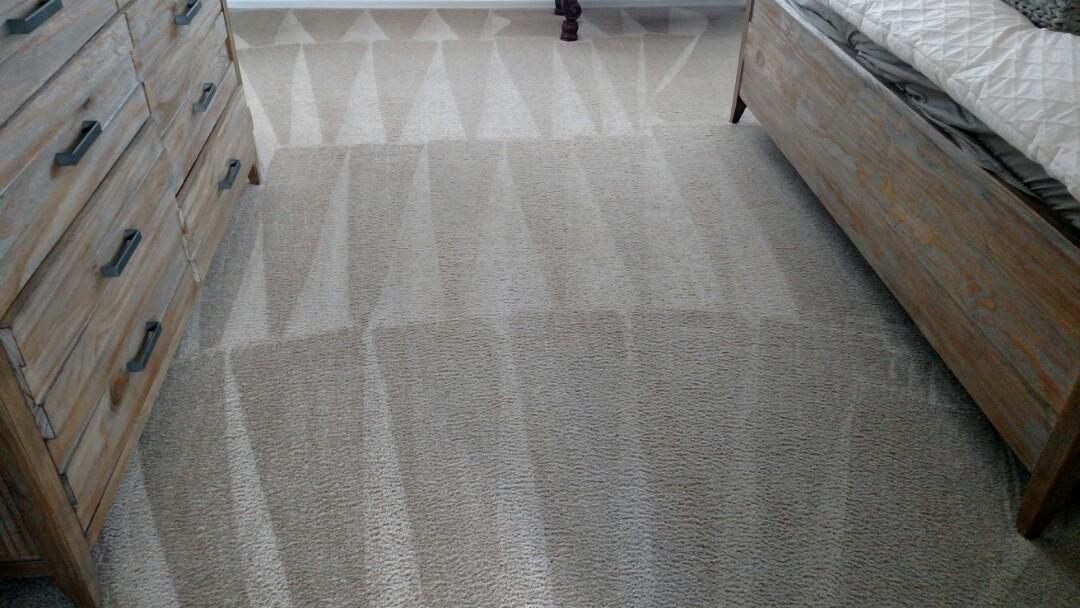 Gilbert, AZ - Cleaned carpet for a new PANDA family in Lyons Gate, Gilbert, AZ 85295.