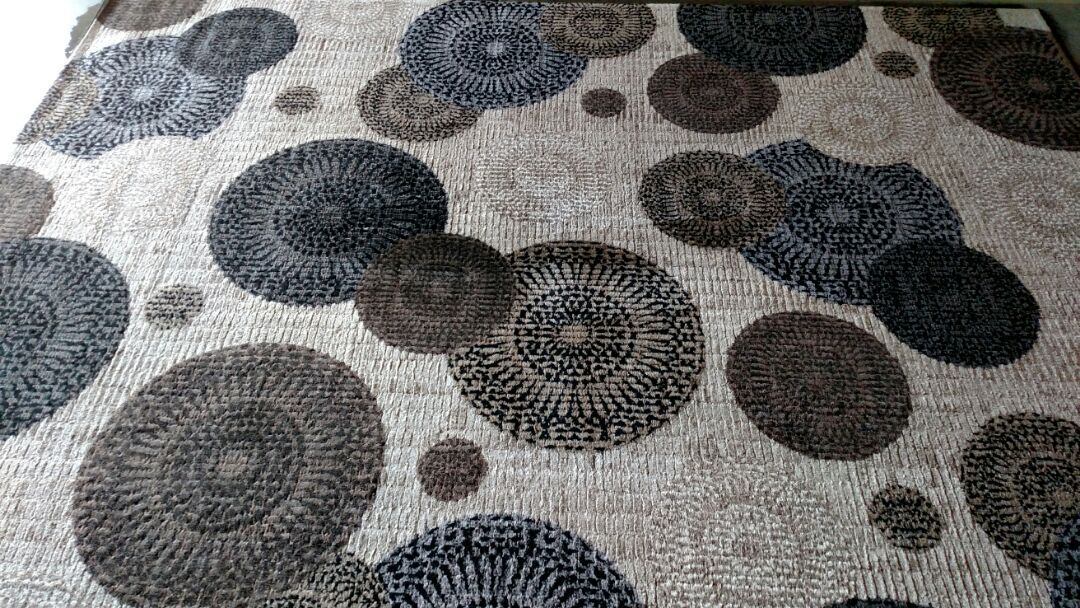 Gilbert, AZ - Cleaned and delivered area rugs for a regular PANDA family in Lyons Gate, Gilbert, AZ 85295.