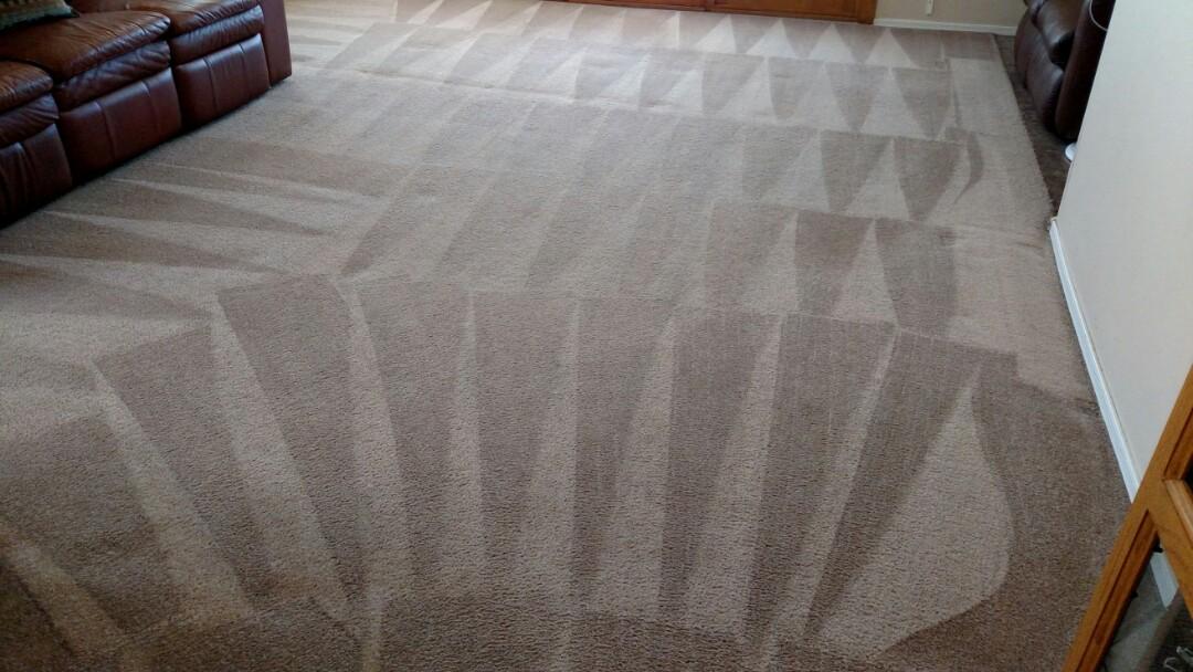 Gilbert, AZ - Cleaned carpet for a new PANDA family in Gilbert, AZ 85233.