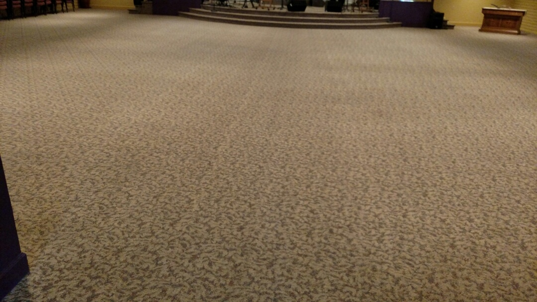 Chandler, AZ - Cleaned commercial carpet for a regular PANDA customer in Chandler, AZ 85225.