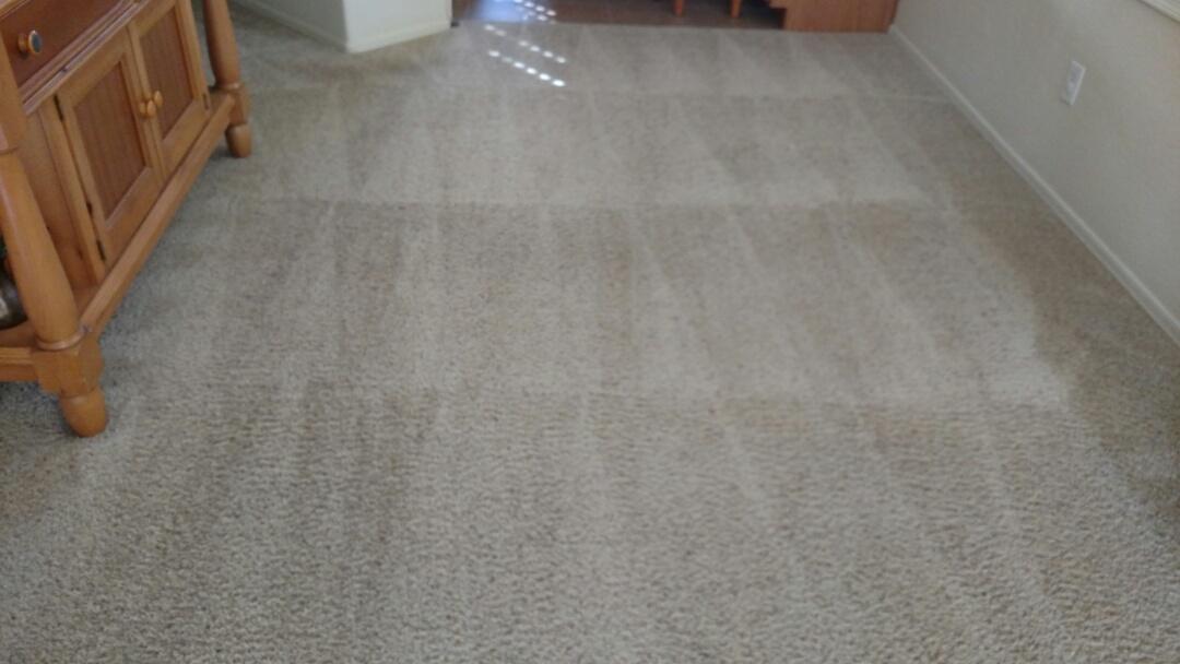 Gilbert, AZ - Cleaned carpet for a new PANDA customer in The Gardens, Gilbert, AZ 85296.