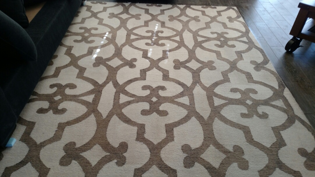 Gilbert, AZ - Cleaned carpet, area rugs and upholstery for a regular PANDA family in Ashley Heights, Gilbert 85295.
