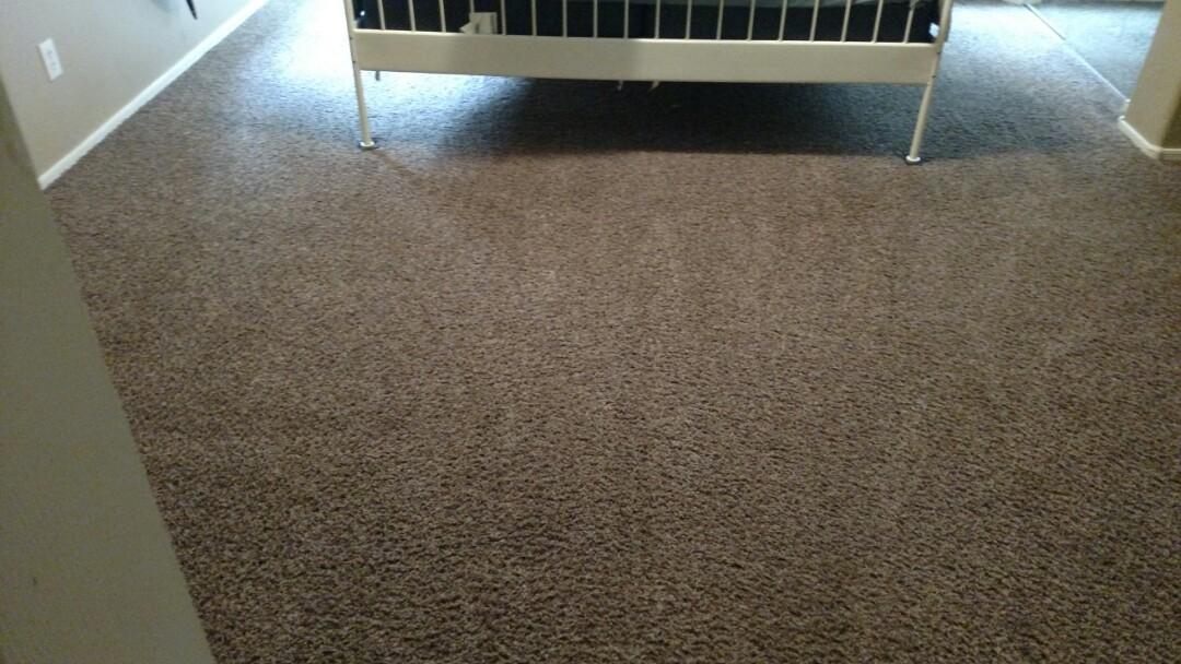 Gilbert, AZ - Cleaned carpet and tile for a new PANDA family in Gilbert, AZ 85295.