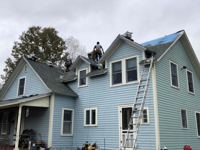 Chaplin, CT - Roof replacement in Chaplin