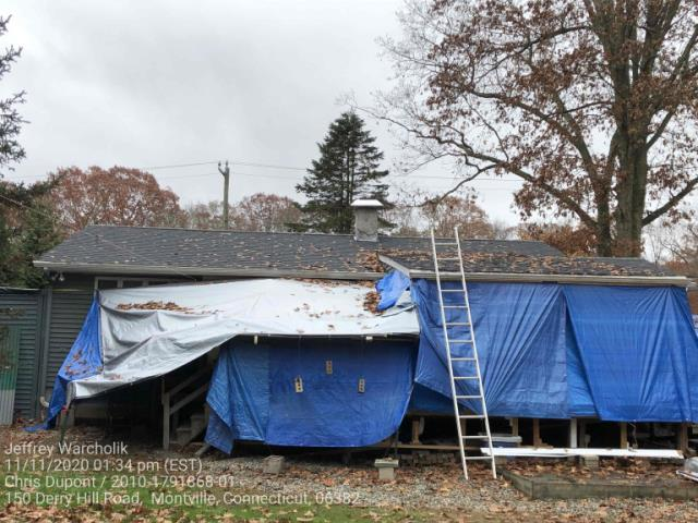 Montville, CT - Roof replacement in Montville, CT