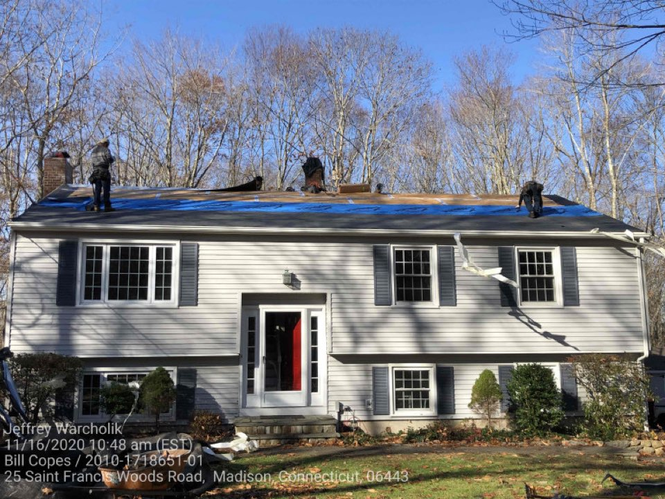 Canterbury, CT - Madison CT Roof Replacement
