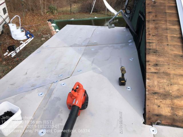 Plainfield, CT - Roof replacement in Plainfield CT