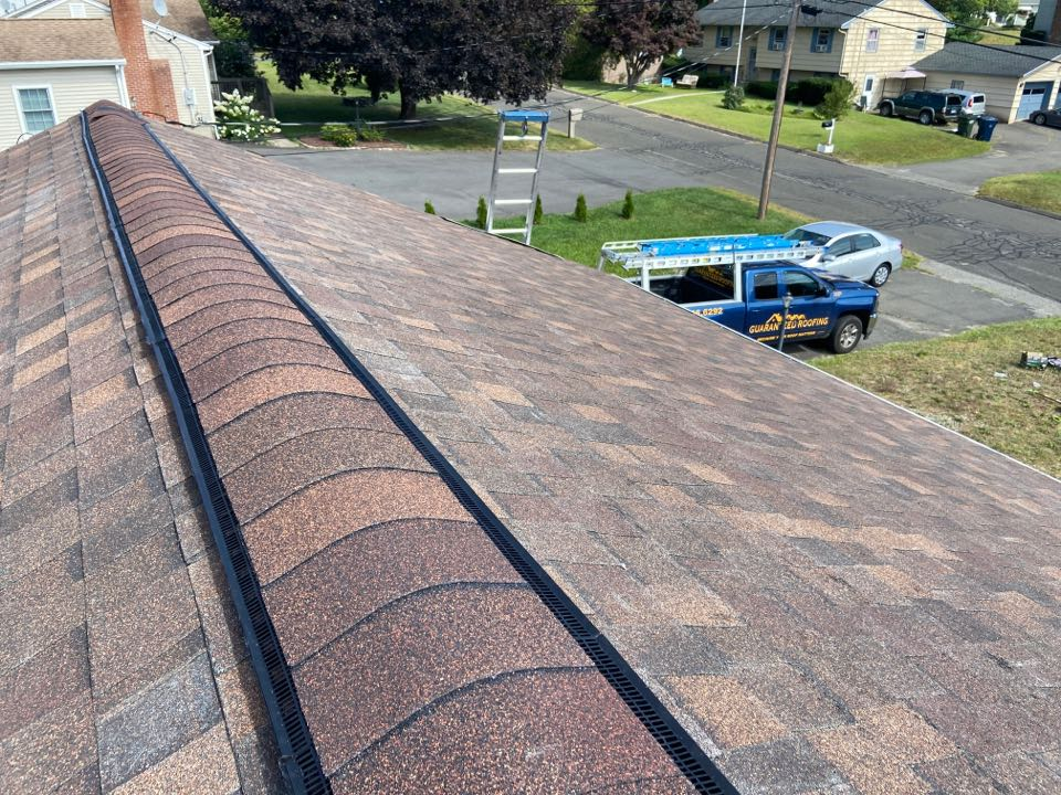 Plymouth, CT - New roof in Plymouth, CT