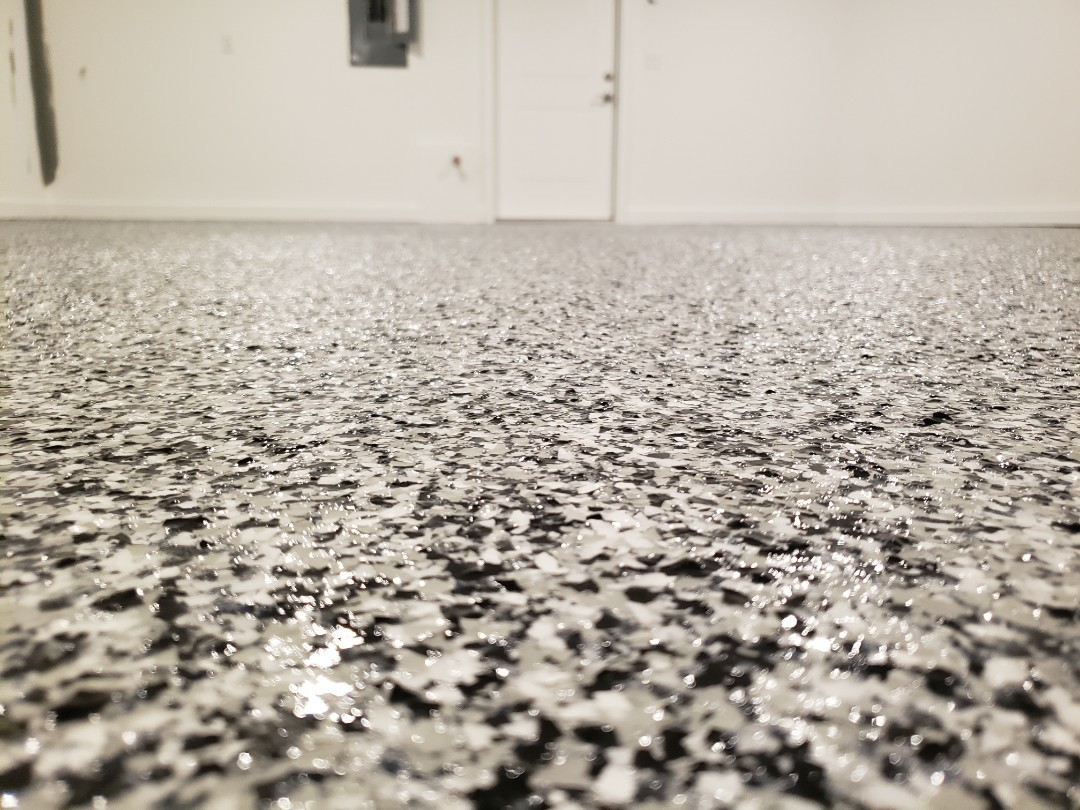 Van Wert, OH - Epoxy garage floor