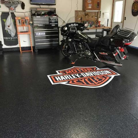 Versailles, OH - A successful custom concrete garage floor coating installation starts well before the actual application of the materials. We have done, and continue to do, extensive research to find the best resins, curing agents, sealers and other materials available in the marketplace today.
