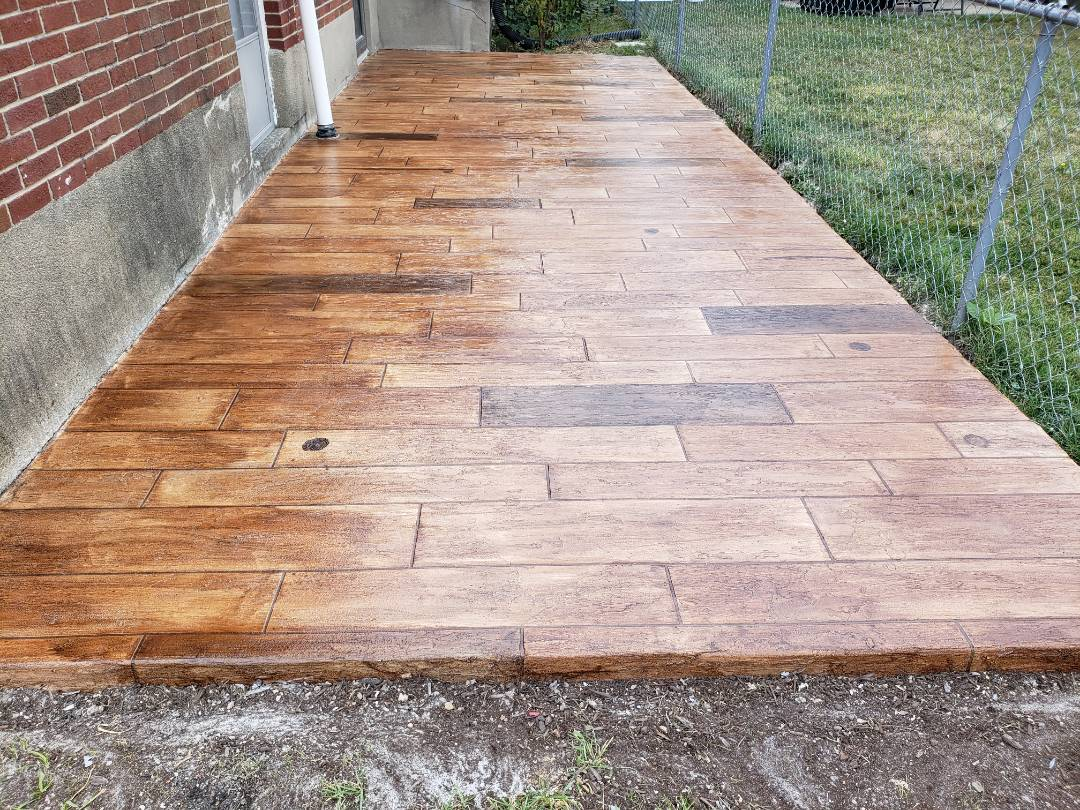 Richmond, IN - Patio resurfacing