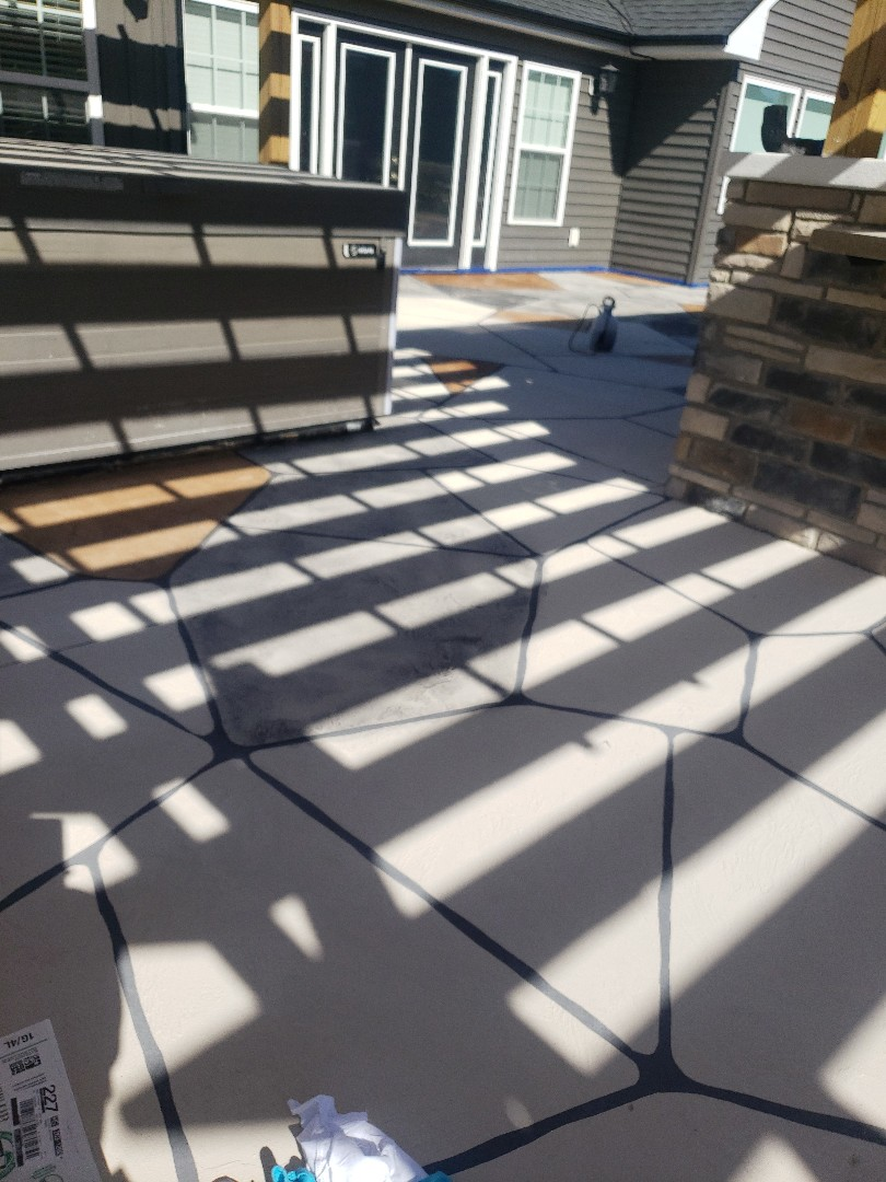 Richmond, IN - Outdoor patio resurfacing