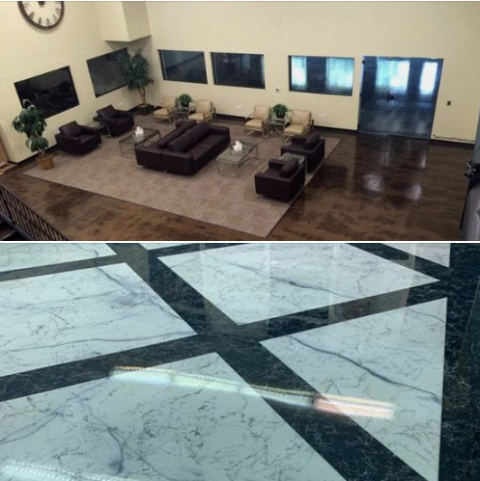 Dublin, OH - If your looking for a company that specializes in decorative concrete for garage flooring, then you came to the right place! We offer multiple systems to remodel your garage floor into an area that you will not be ashamed to show off!!