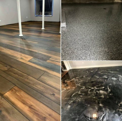 Versailles, OH - As a decorative concrete company, we help bring life and beauty back to your concreted areas; such as basements, patios, garages, walk ways and more!!!