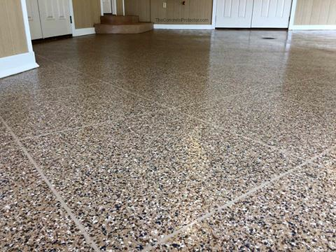 Troy, OH -  Epoxy Tile is a high quality epoxy flooring option that we provide! Check out more of our systems today!