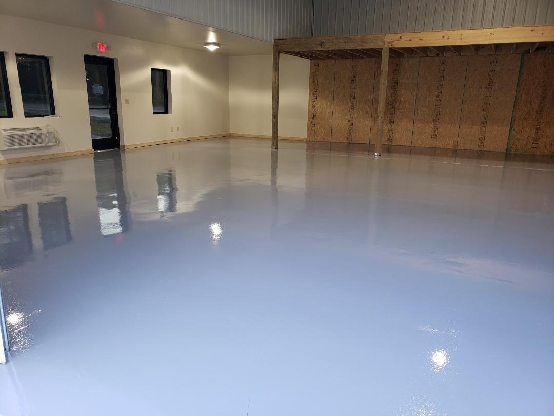 Eaton, OH - Commercial epoxy flooring Resinous epoxy flooring
