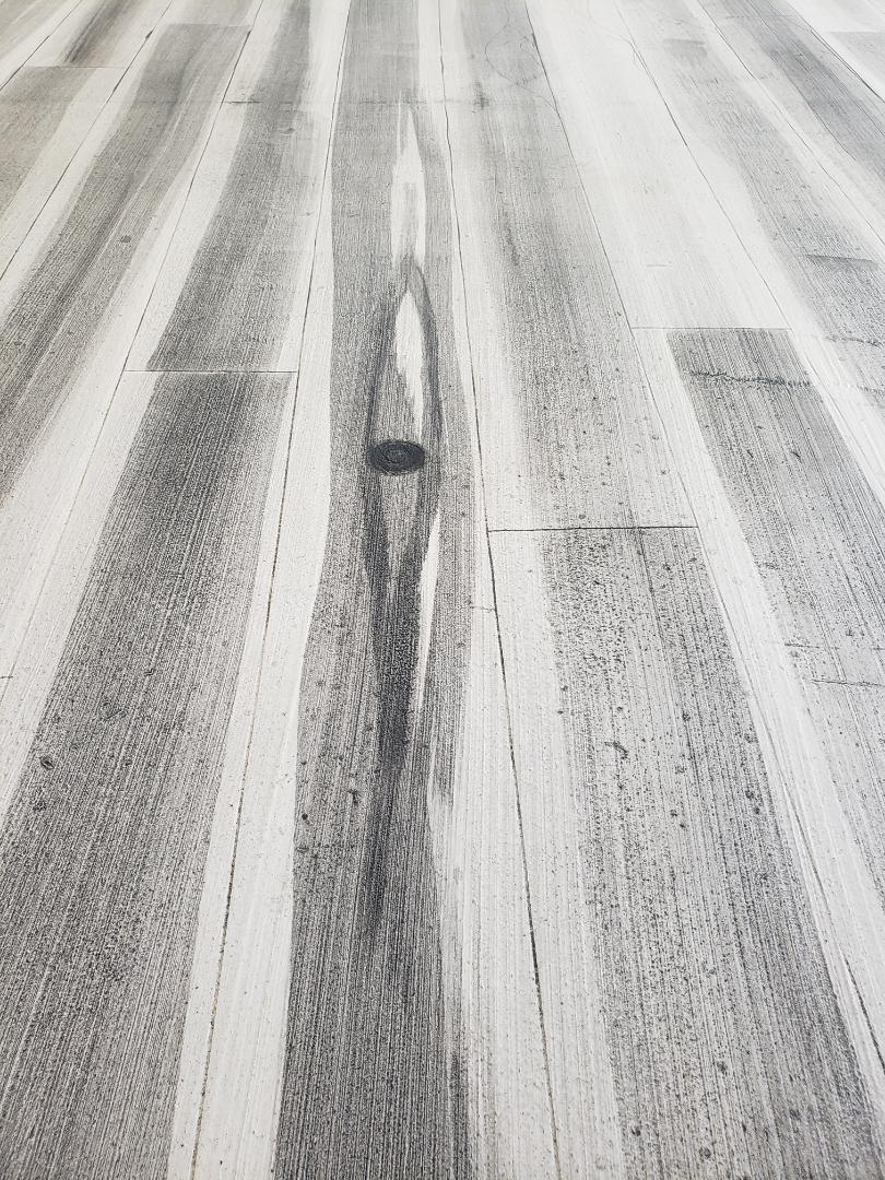 Bellefontaine, OH - Rustic concrete wood flooring
