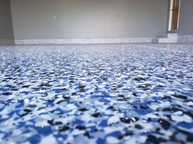 Versailles, OH - American Dynamic Coatings did exactly what they said they would do! They installed a beautiful Epoxy Flake Garage Floor at an affordable price! Brant was customer-focused, professional, and responsive to questions! We even had the option to choose our own color blend that we wanted to use! They clean up after each application, quick with the installation, and created a fantastic result! I would highly recommend American Dynamic coatings to everyone!