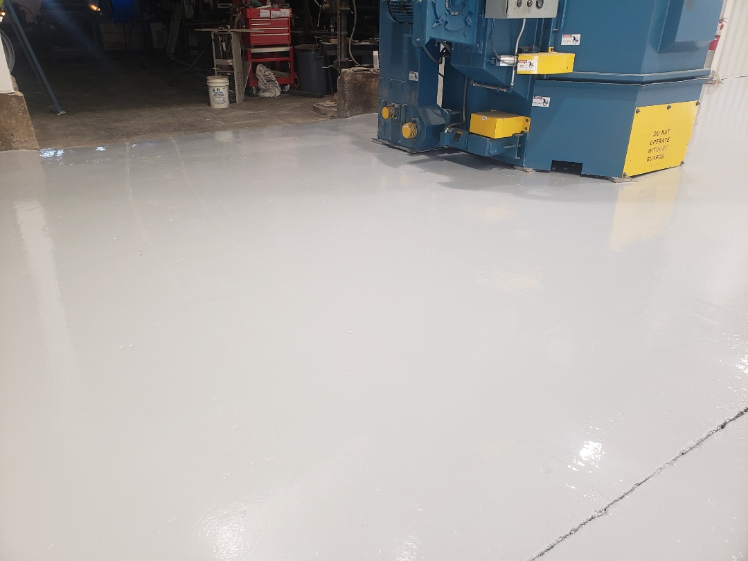 Dayton, OH - Resinous epoxy flooring resurfacing