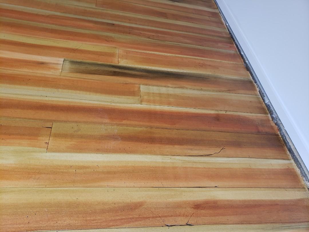 Celina, OH - Rustic concrete wood epoxy flooring