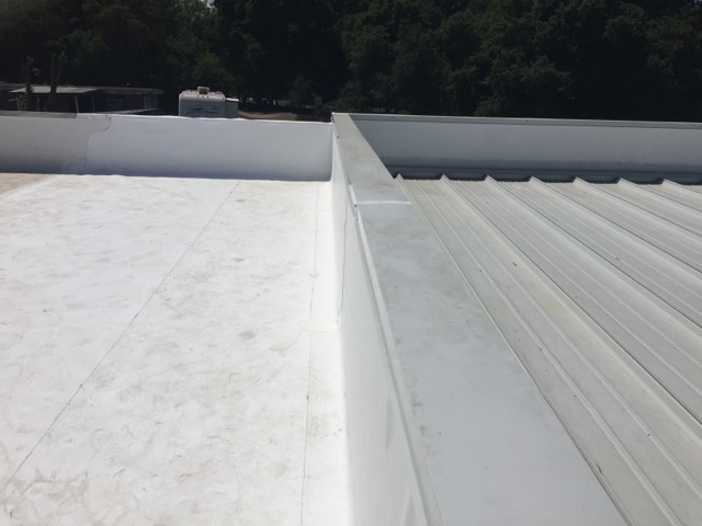 Santa Rosa, CA - Our commercial roofing team here at Allied Construction Services did another great job on this roof near Hopper Avenue in Santa Rosa, CA.