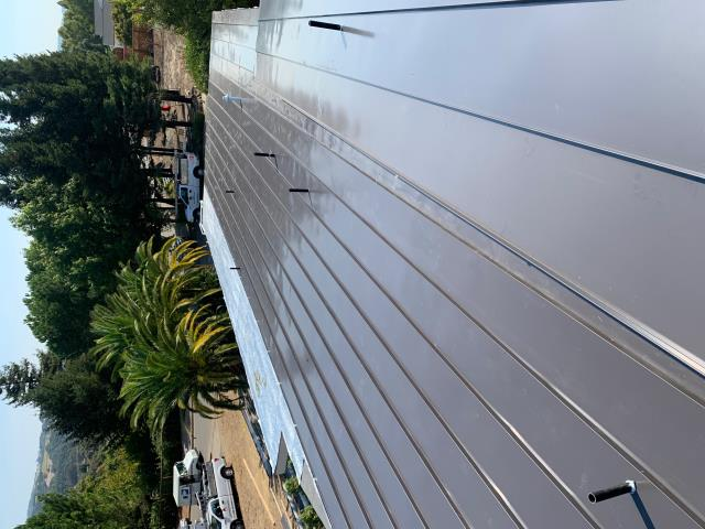 Kenwood, CA - Our commercial roofing team at Allied Construction Services installed new standing seam metal roofing to new construction in Kenwood, CA.