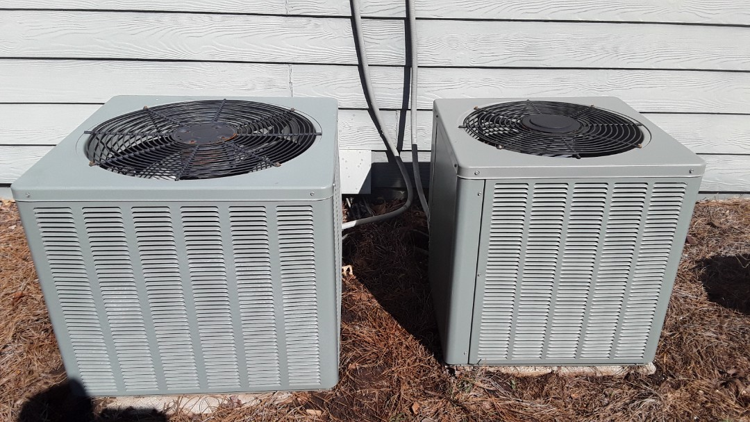 Kennesaw, GA - Performed AC Maintenance on 2 Ruud Condesning Units. Kennesaw