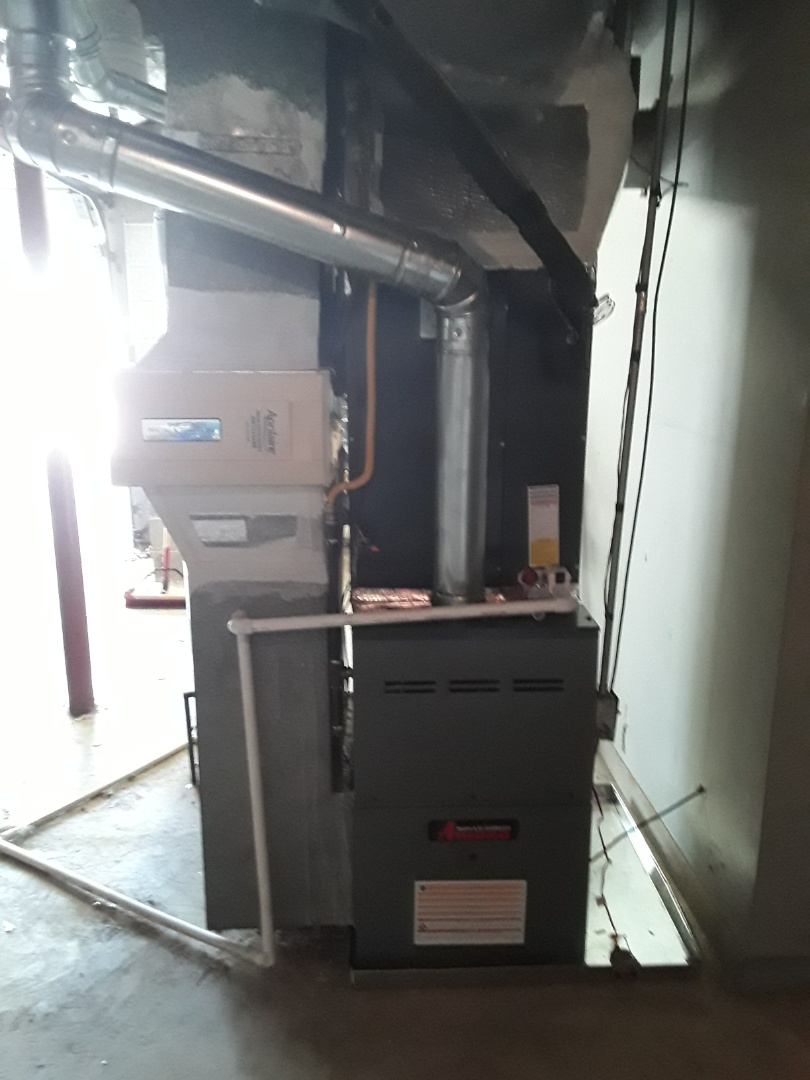 Smyrna, GA - Installed new Amana condenser and gas furnace with Ecobee Thermostat
