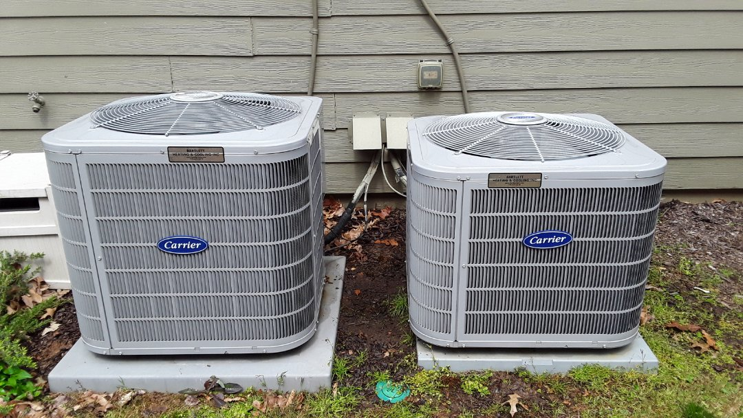 Kennesaw, GA - Performed AC Maintenance on a Carrier and a Payne Condensing Units.  Kennesaw