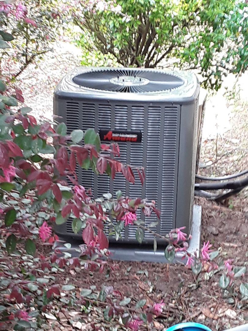 Acworth, GA - Installed new Amana 14 seer cooling system