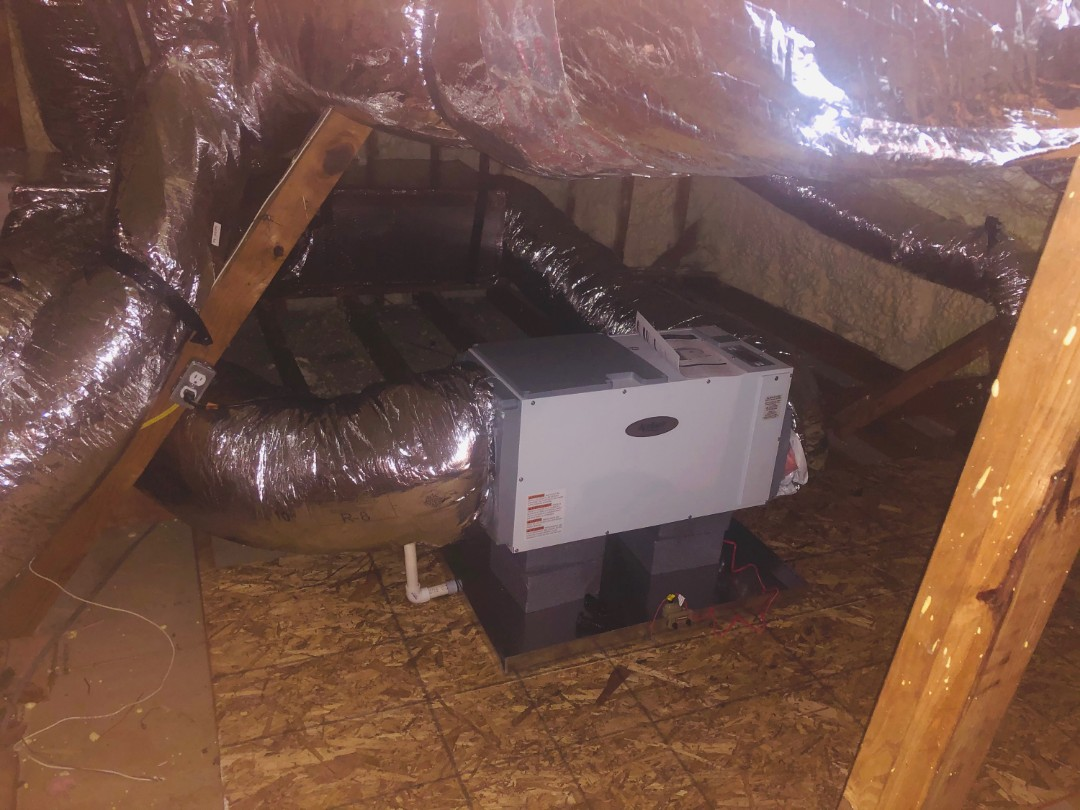 Atlanta, GA - Installed new April Aire Dehumidifier