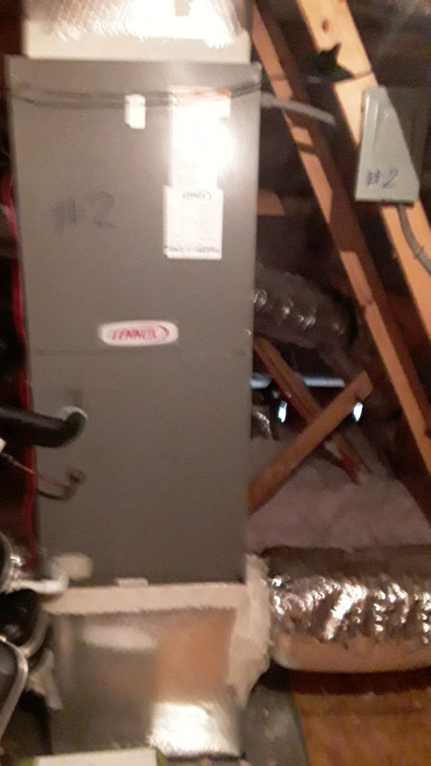 Marietta, GA - Performed Heat Maintenance on a Lennox and Amana Air Handlers. Marietta