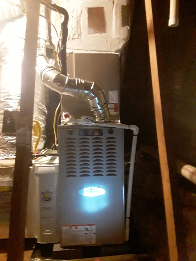 Atlanta, GA - Installed new Carrier Infinity 16 seer condensor with Infinity 2 stage variable speed gas furnace and Infinity Mytouch WIFI Thermostat