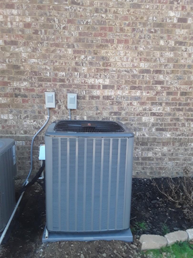 Marietta, GA - Installed new Amana heat pump