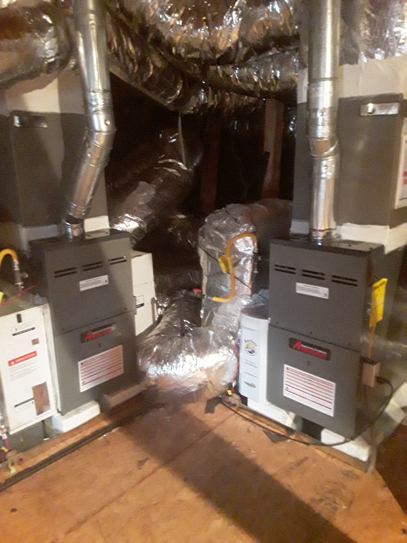 Smyrna, GA - Installed 2 new Amana 2 stage variable speed gas furnaces