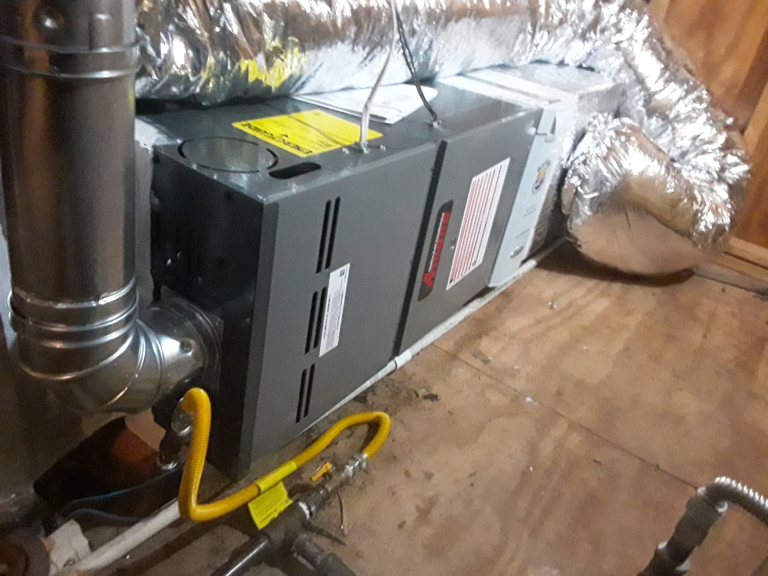 Atlanta, GA - Installed new Amana 2 stage gas furnace