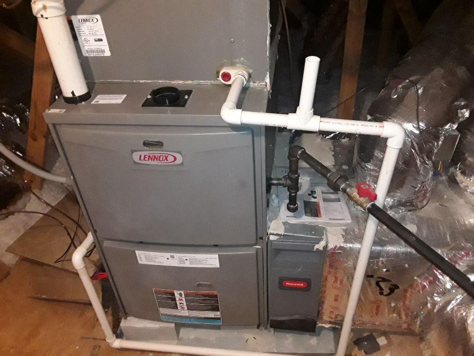 Kennesaw, GA - Performed Heat Maintenance on 2  Lennox Furnaces and 1 Lennox HP. Kennesaw