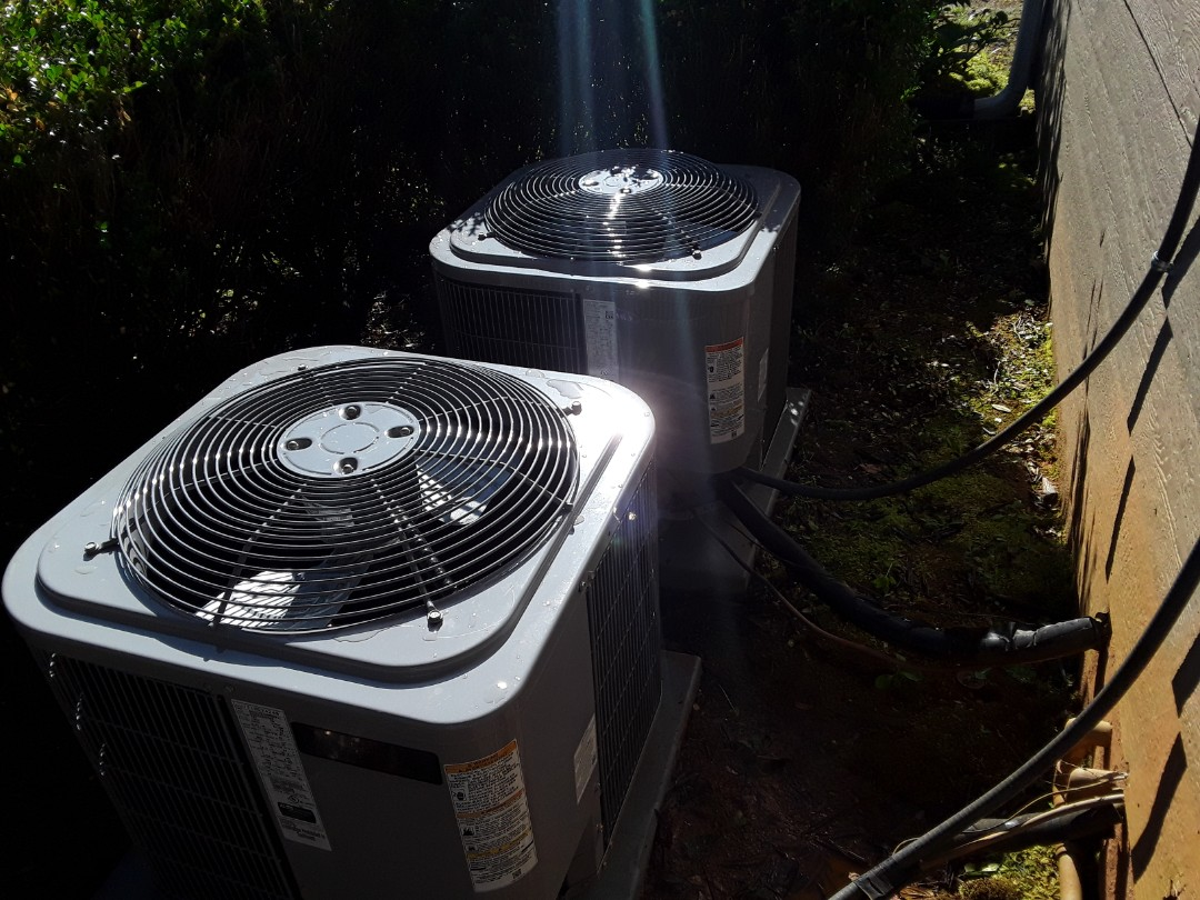 Kennesaw, GA - Performed AC Maintenance on 2 Carrier Condensing Units.  Kennesaw