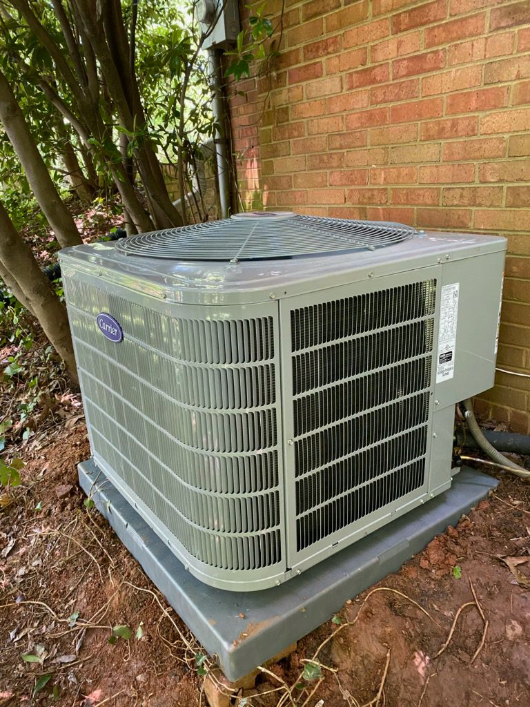 Sandy Springs, GA - Installed new Carrier 16 seer cooling system