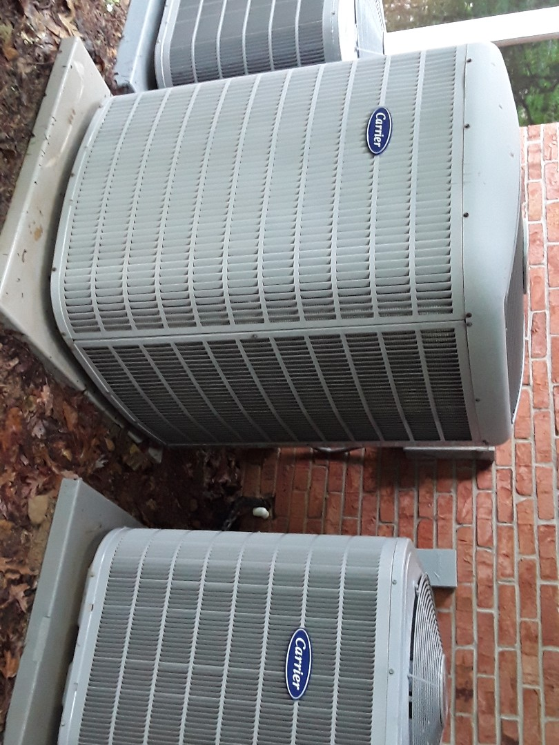 Kennesaw, GA - Performed AC Maintenance on 3 Carrier condensing Units.  Kennesaw