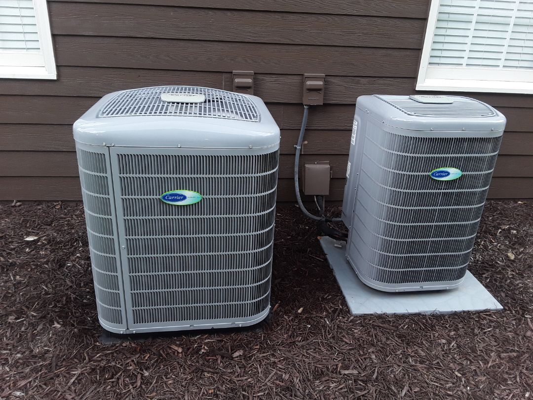 Kennesaw, GA - Performed AC Maintenance on 2 High Efficiency Carrier condensing Units.  Kennesaw