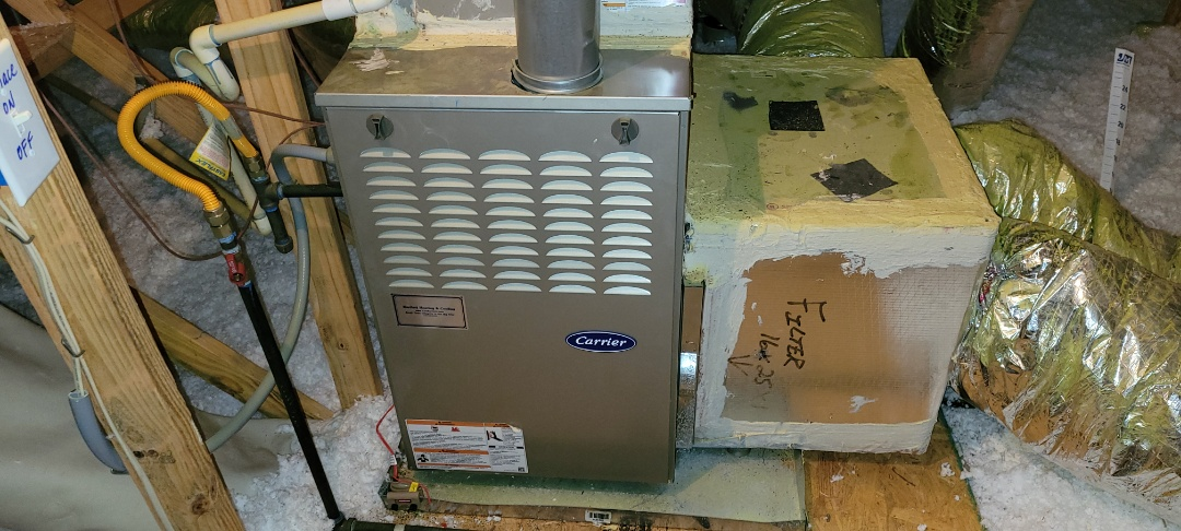 Acworth, GA - Performed Heat Maintenance on a Carrier furnace with zoning. Acworth