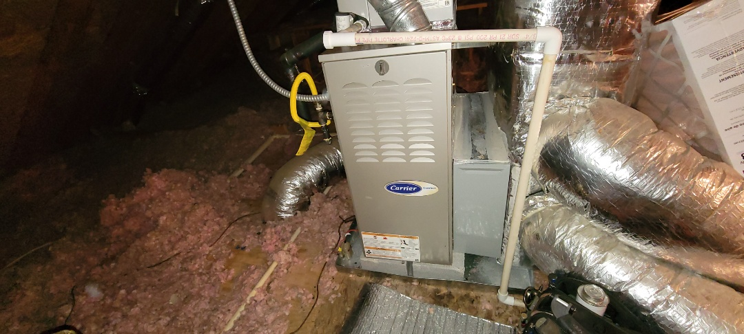 Powder Springs, GA - Performed Heat Maintenance on a Carrier and Tranes furnaces. Powder Springs